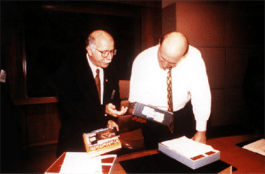 Francisco Soeltl e Steve Ballmer