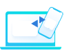 Icone de laptop e celular